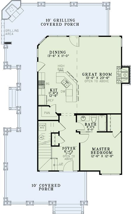 Cottage House Plan 110