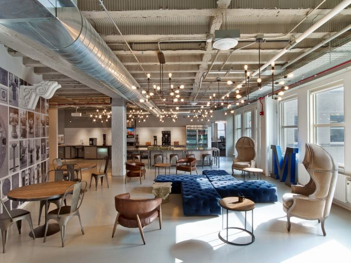 Motorola Mobility Chicago Offices Office Snapshots Industrial Office Decor Loft Designs Office Design