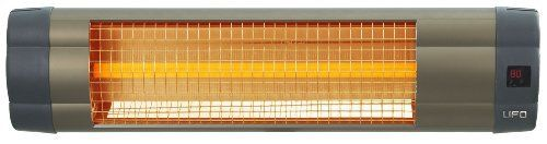 Bell Hudson Uk 1500 Remote Electric Infrared Heater 1500 Watt By Bell 349 00 Heats Up To Full P Wall Mounted Heater Infrared Heater Energy Efficient Heaters