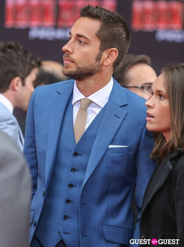 Zachary Levi with his sister Shekinah Pugh - best-looking siblings. EVER. <3