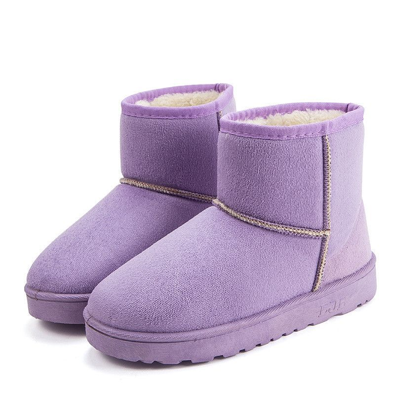 HEE GRAND Snow Boots 2016 Winter Women Ankle Boots Slip On Casual Shoes Woman Warm Flock Platform Women Flats Shoes XWX3576