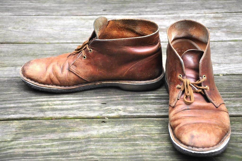 The perfect pair of Desert Boots
