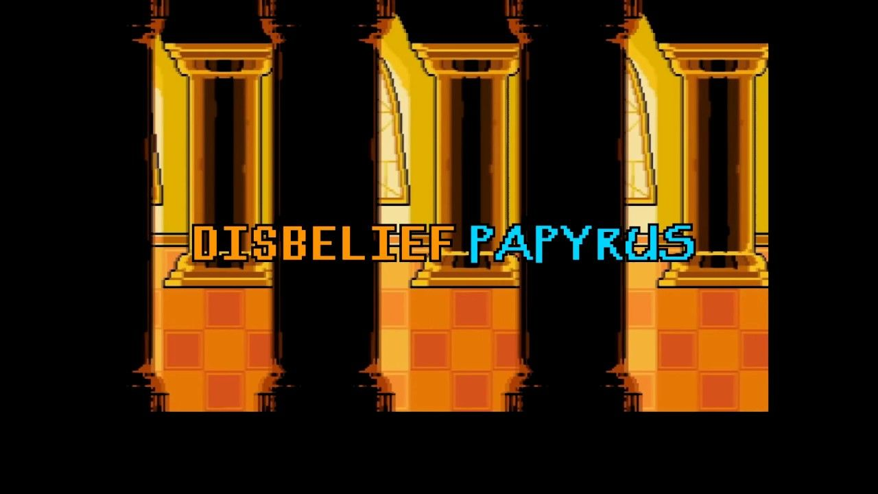 Fanmade Disbelief Papyrus Animation Trailer [Undertale] | undertale