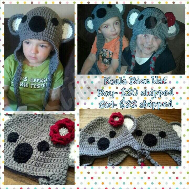 Koala bears Facebook.com/stitch.craft.2012   Made by me!   Pinterest