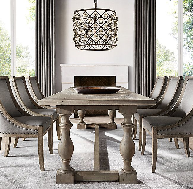Genial Restoration Hardware  4 Finish Options 17th C. Priory Rectangular Dining  Table $1695 $2095