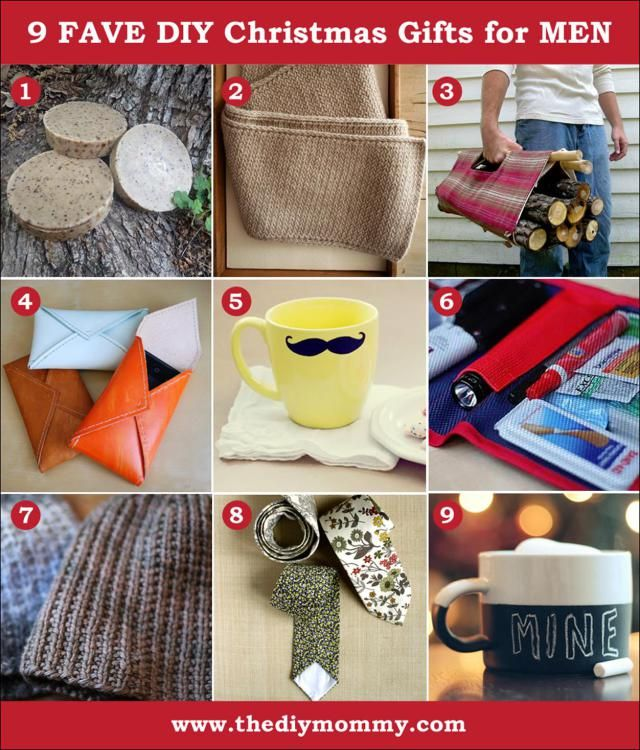 diy christmas gifts men