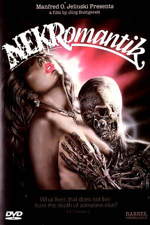 NEKROMANTIK A controversial German flick from the late eighties. A road cleaner finds a corpse and takes it home. He is sickened to discover that his wife prefers the corpse over him. www.burninggirl.biz