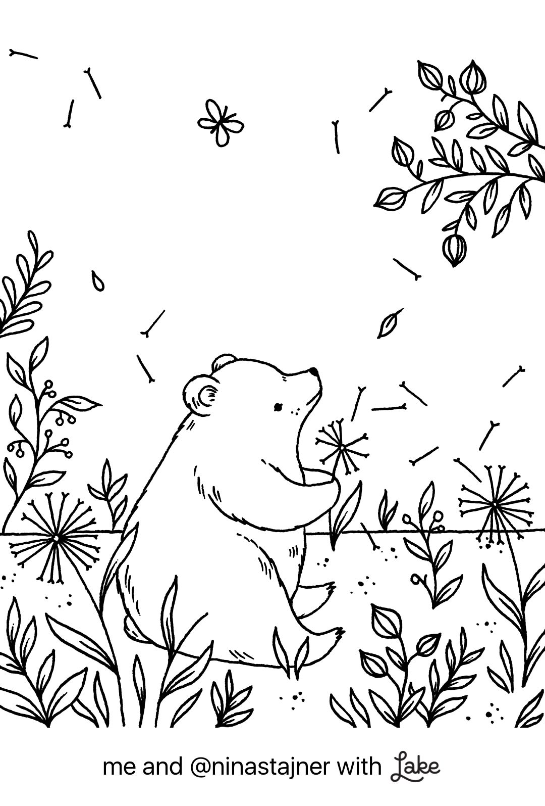Coloring Page from Lake Coloring App Coloring Pages