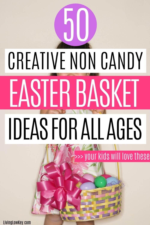 50 Inexpensive Easter Basket Filler Ideas That Aren T Candy Inexpensive Easter Basket Ideas Easter Baskets Basket Fillers
