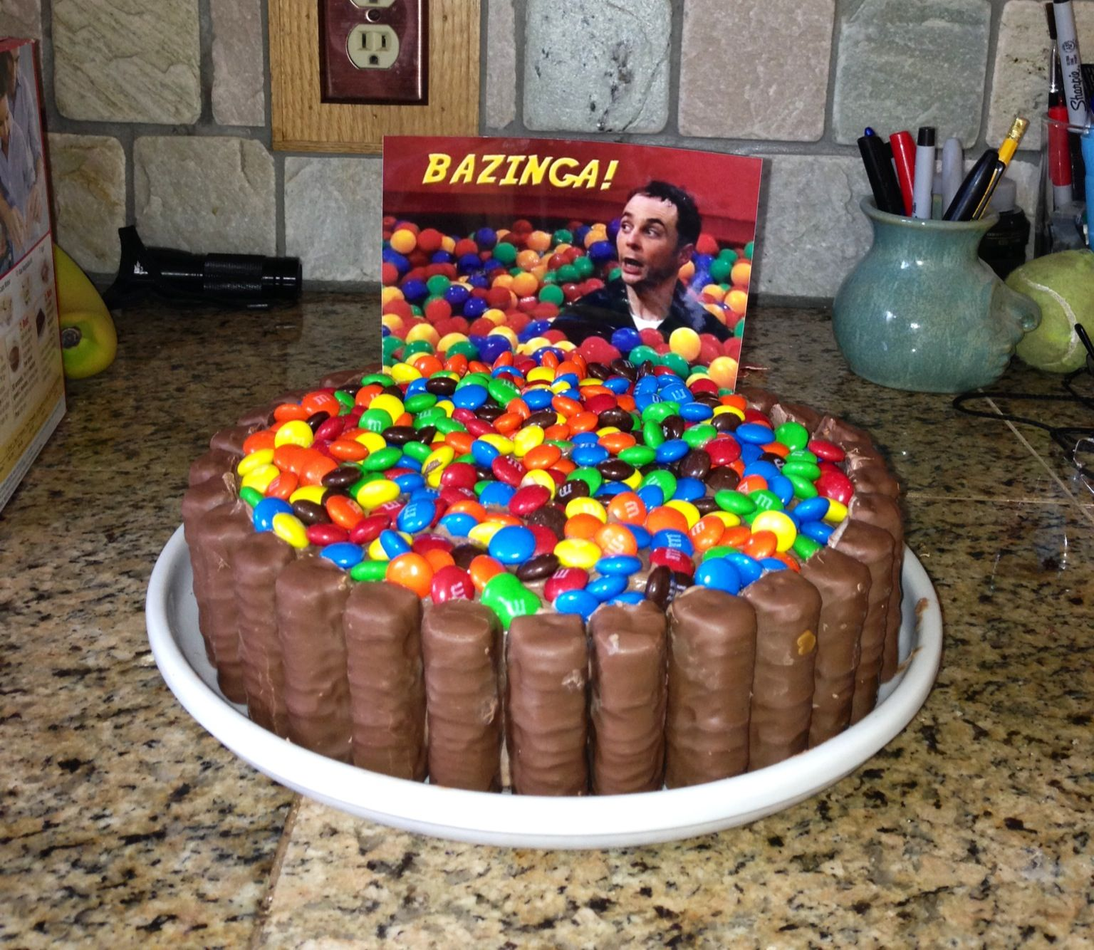 Big Bang Theory Cake Found Jere S Birthday Cake