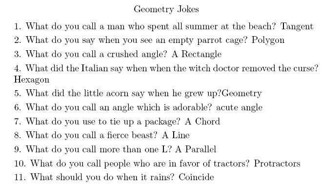 geometry puns math stuff math jokes math cartoons fun math. Black Bedroom Furniture Sets. Home Design Ideas