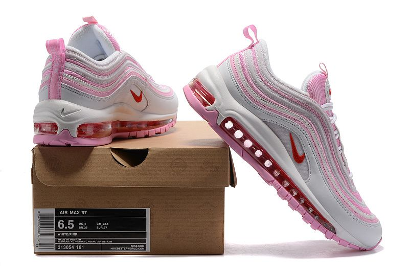 the best attitude be4dc 60fbf Nike Air Max 97 GS Pink White