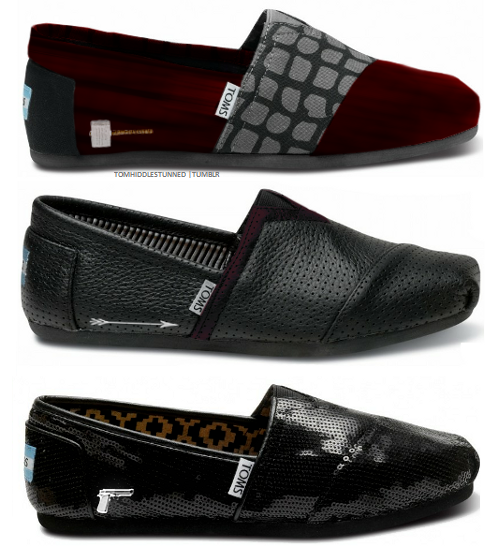 These are the second set of Toms Avengers shoes with the Black Widow being the cutest (my favorite)!