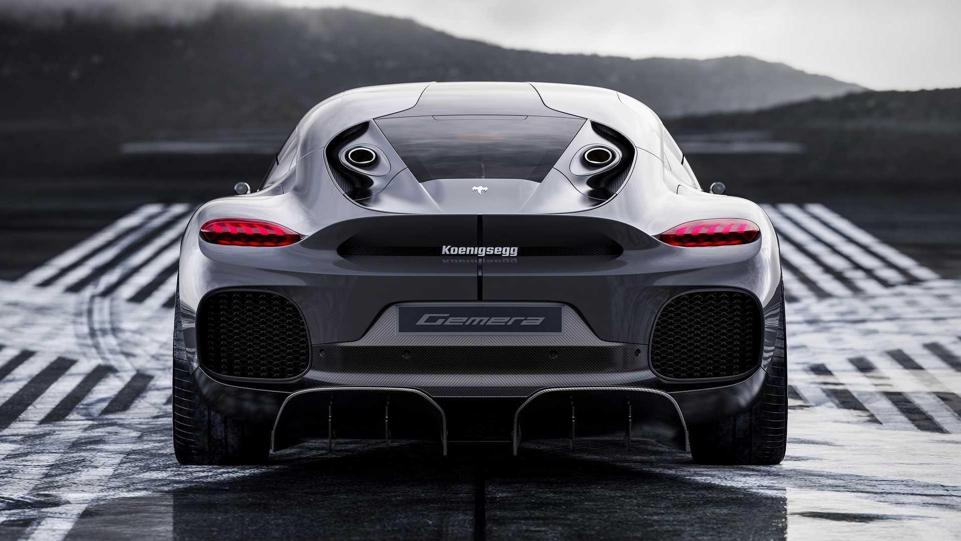 Koenigsegg Gemera 2021 Limitée à une édition de 300