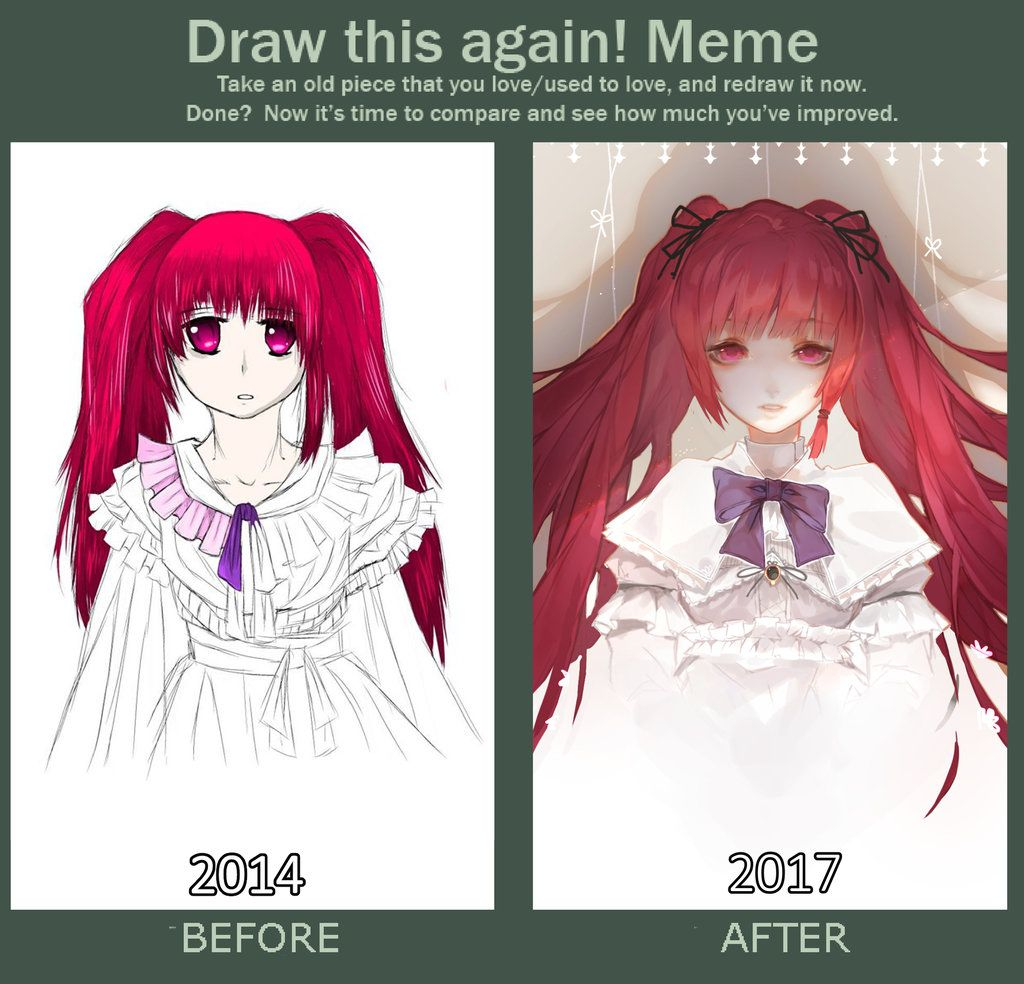 Lazy Draw This Again Meme By Makashikami Art In 2019 Pinterest