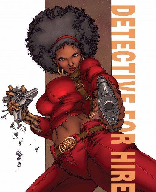 African American SuperHeroines