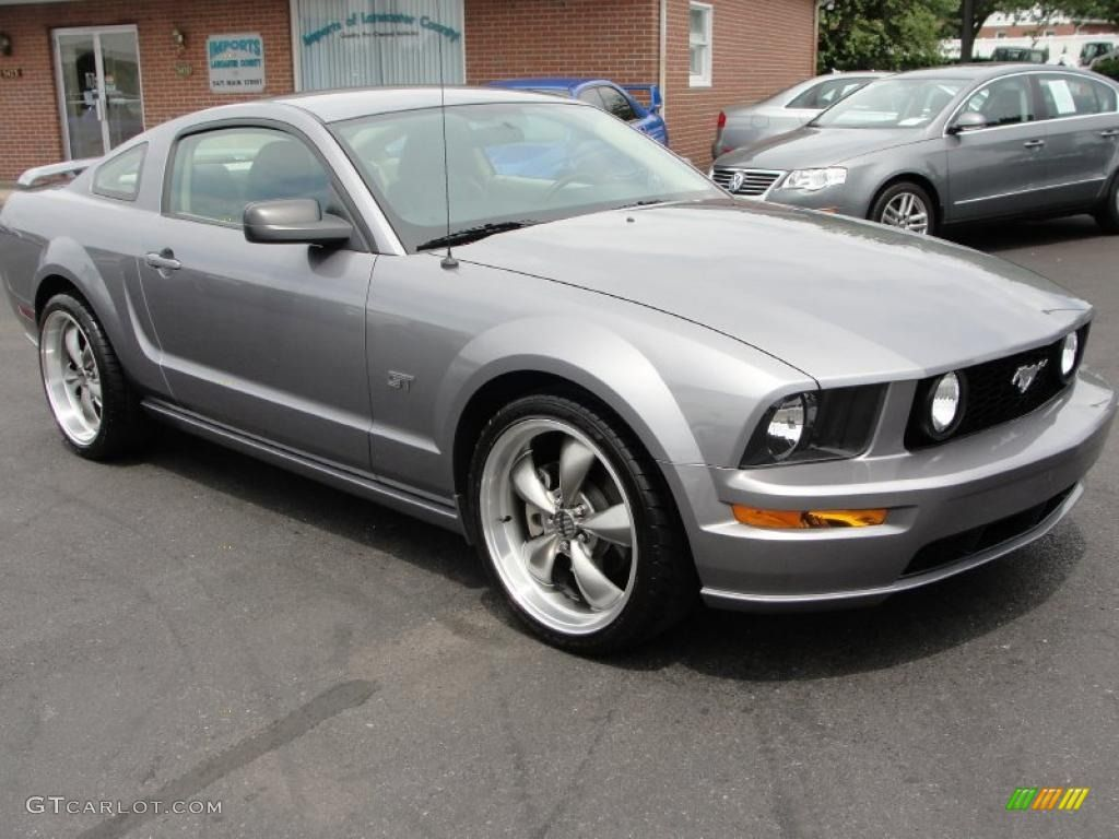 2007 ford mustang gt premium coupe tungsten grey metallic color