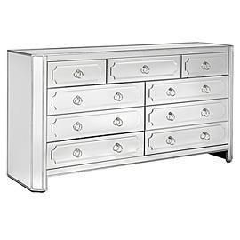 Simplicity Mirrored Dresser Z Gallery 6 Drawer Chest