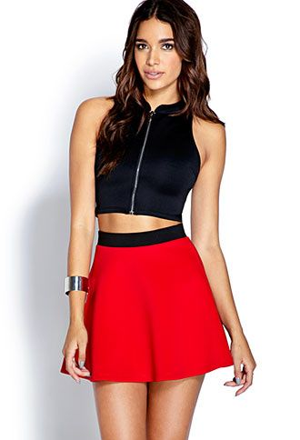 Show Off Scuba Knit Skirt - InStores