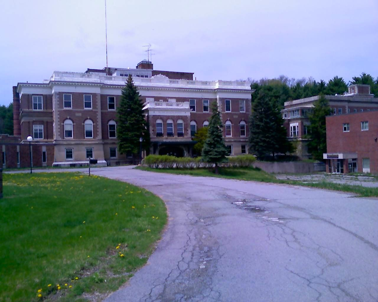 Abandoned Mary Mcclellan Hospital Cambridge Ny Ne Of