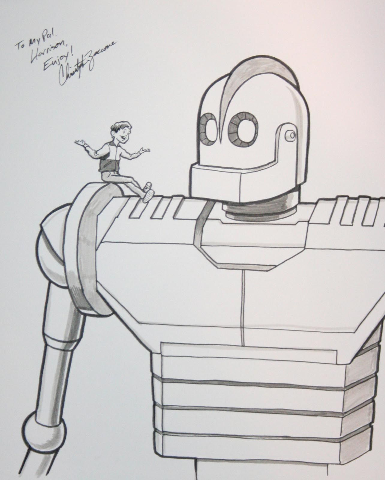 Iron Geant The Iron Giant What To Draw Drawings