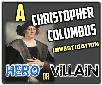 christopher columbus villain essays Christopher columbus hero or villain essay example hadn't landed in asia, but columbus forced them to lie those who disobeyed were executed.