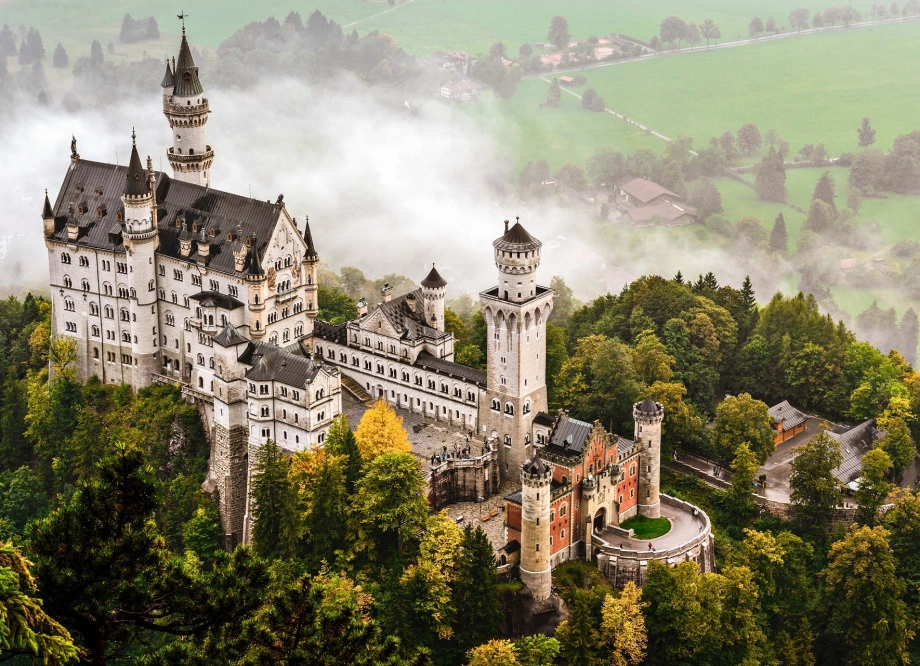 Visit The Most Famous Castle In Europe Schloss Neuschwanstein In Germany Neuschwanstein Castle Germany Castles Famous Castles