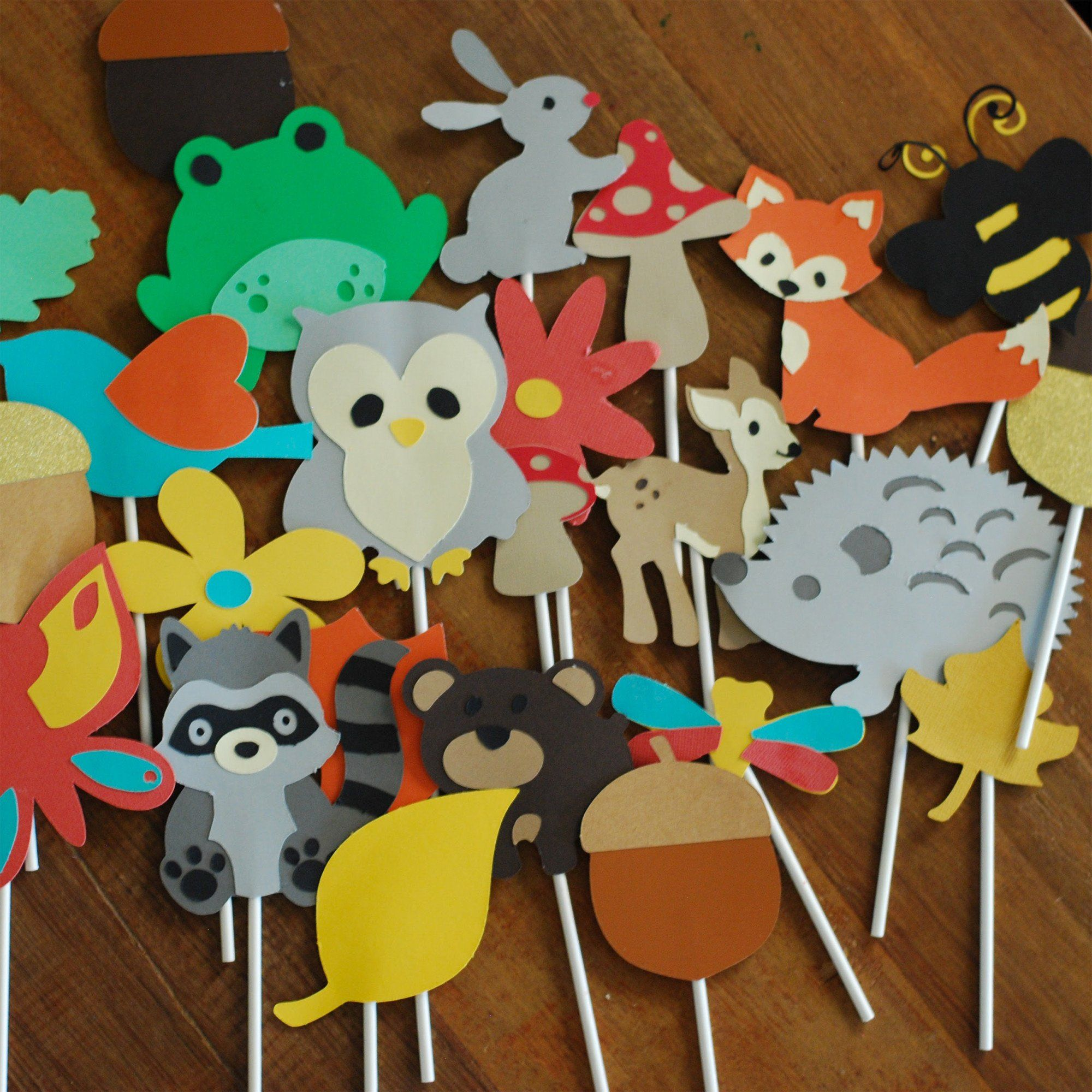 Cute Personalized Woodland Animals For Babies Baby ...  Woodland Creature Baby Shower Quotes