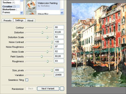 Watercolor Painting Tutorial With Filter Forge Plugin 4