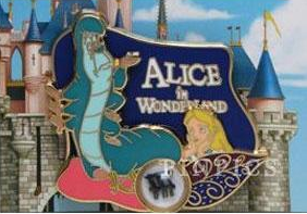 Pin 107400 DLR - Piece of Disney History 2015 - Alice in Wonderland