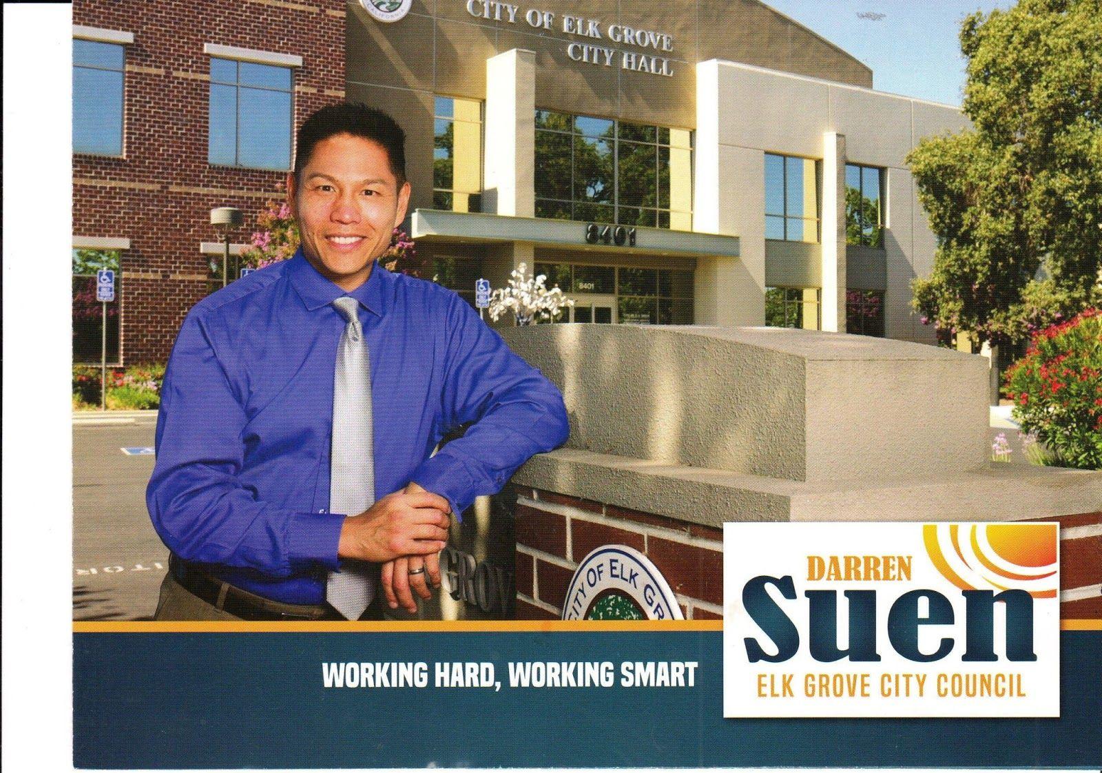 Darren Suen Continues Fundraising After Easy Victory In Recent Elk Grove City Council Race Grove City City Council Elk Grove
