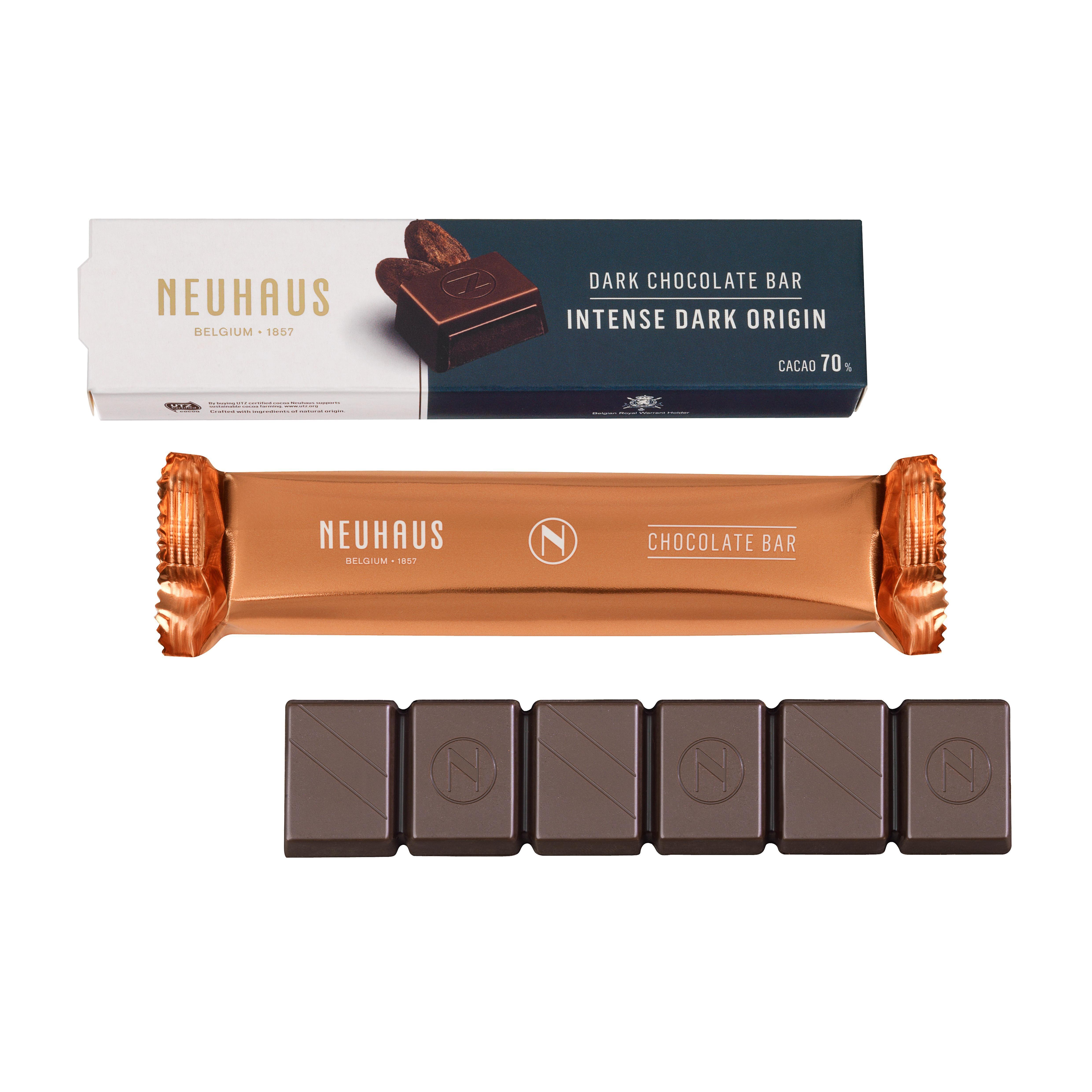 Neuhaus Intense Dark Chocolate Bar 70 55g Discover The New