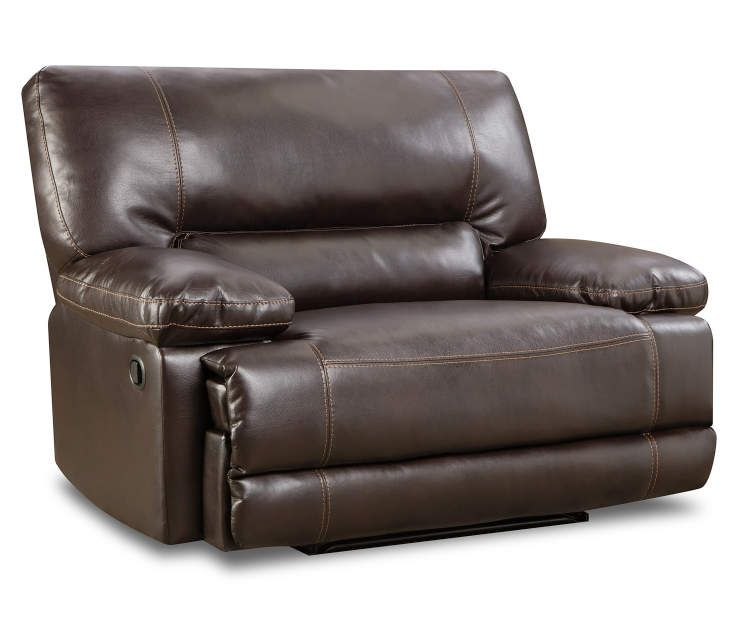 Roman Chocolate Snuggle Up Recliner At Big Lots.