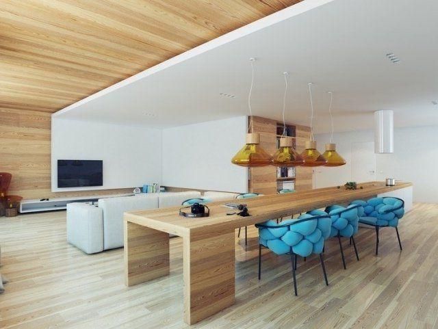 Moderne Esszimmer Trends 2018 Stile, Farben und Designs für dieses
