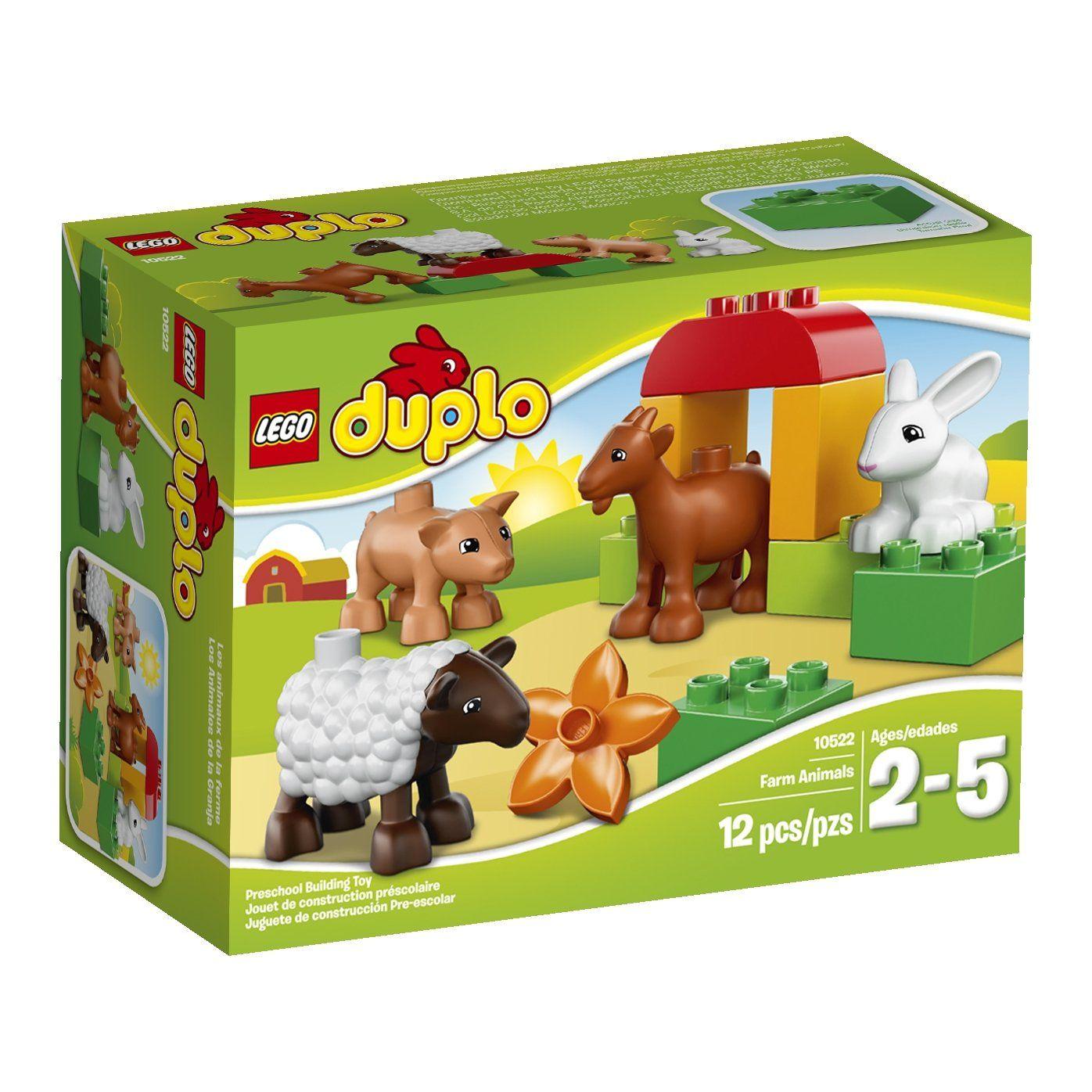 Amazoncom Duplo Lego Ville 10522 Farm Animals 8 Farm Play