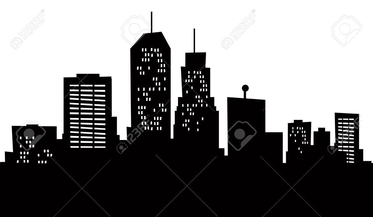 A Cartoon Skyline Of Newark New Jersey Usa Affiliate Skyline Cartoon Newark Usa Jersey Skyline Silhouette Skyline Willis Tower