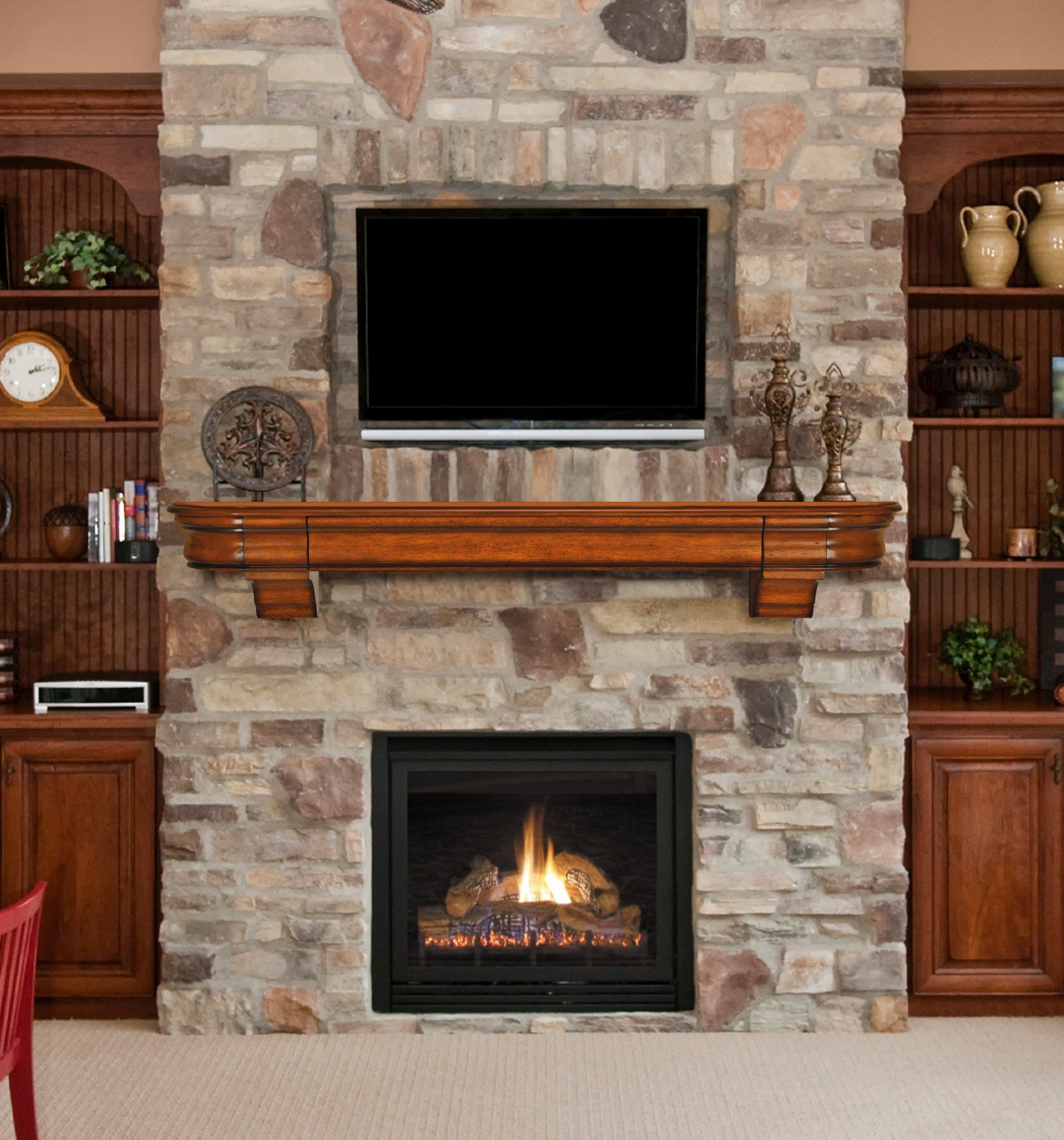 Living Room Designs With Fireplace And Tv - Fireplace Mantels