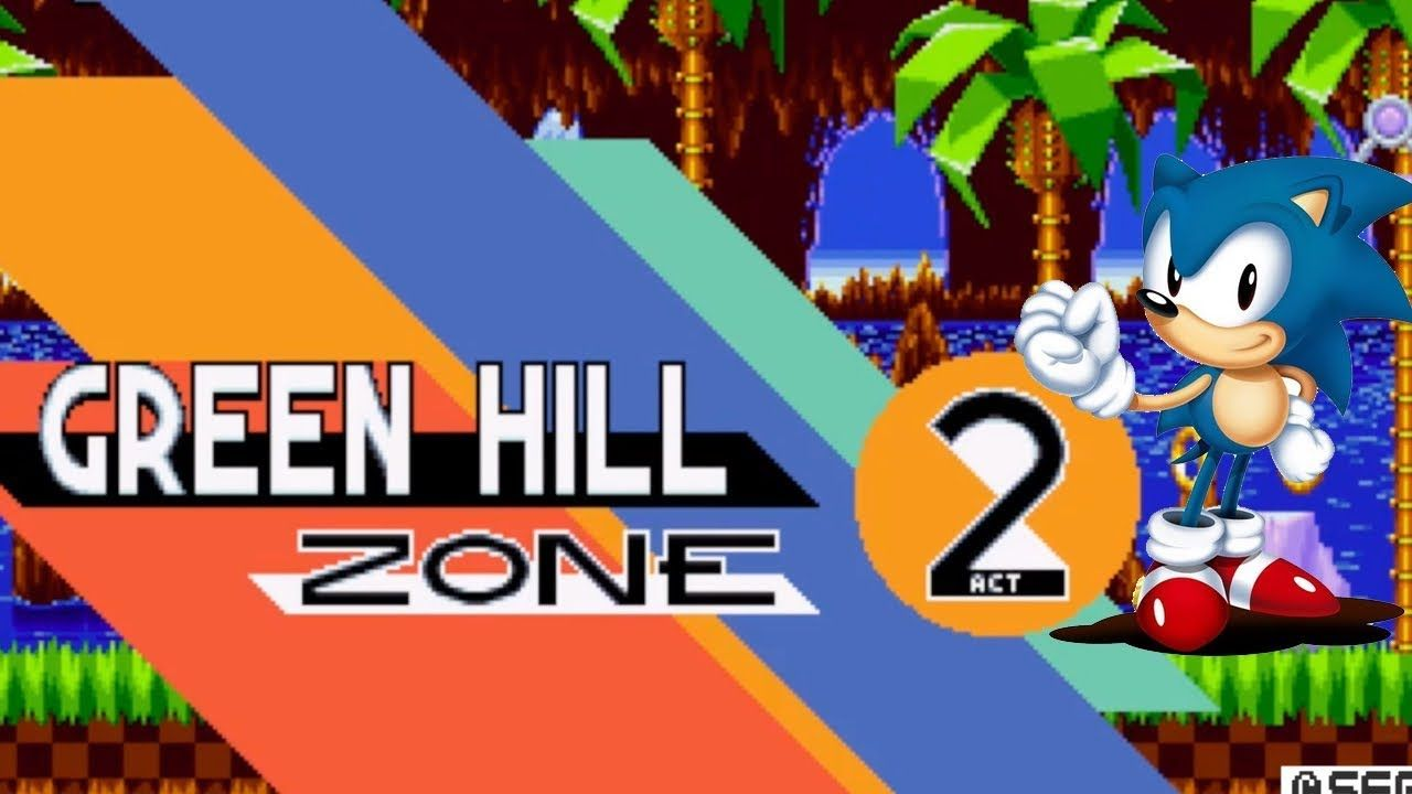 SONIC MANIA PS4 | GREEN HILL ZONE Level 1 | ACT 2 | SONIC