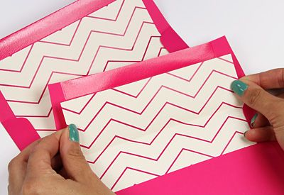 Printable Chevron Liners And Invitation Templates Envelope Art
