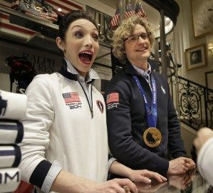 Meryl Davis, Charlie White to be on 'Dancing with the Stars' | OlympicTalk <<-- she is TOO cute!