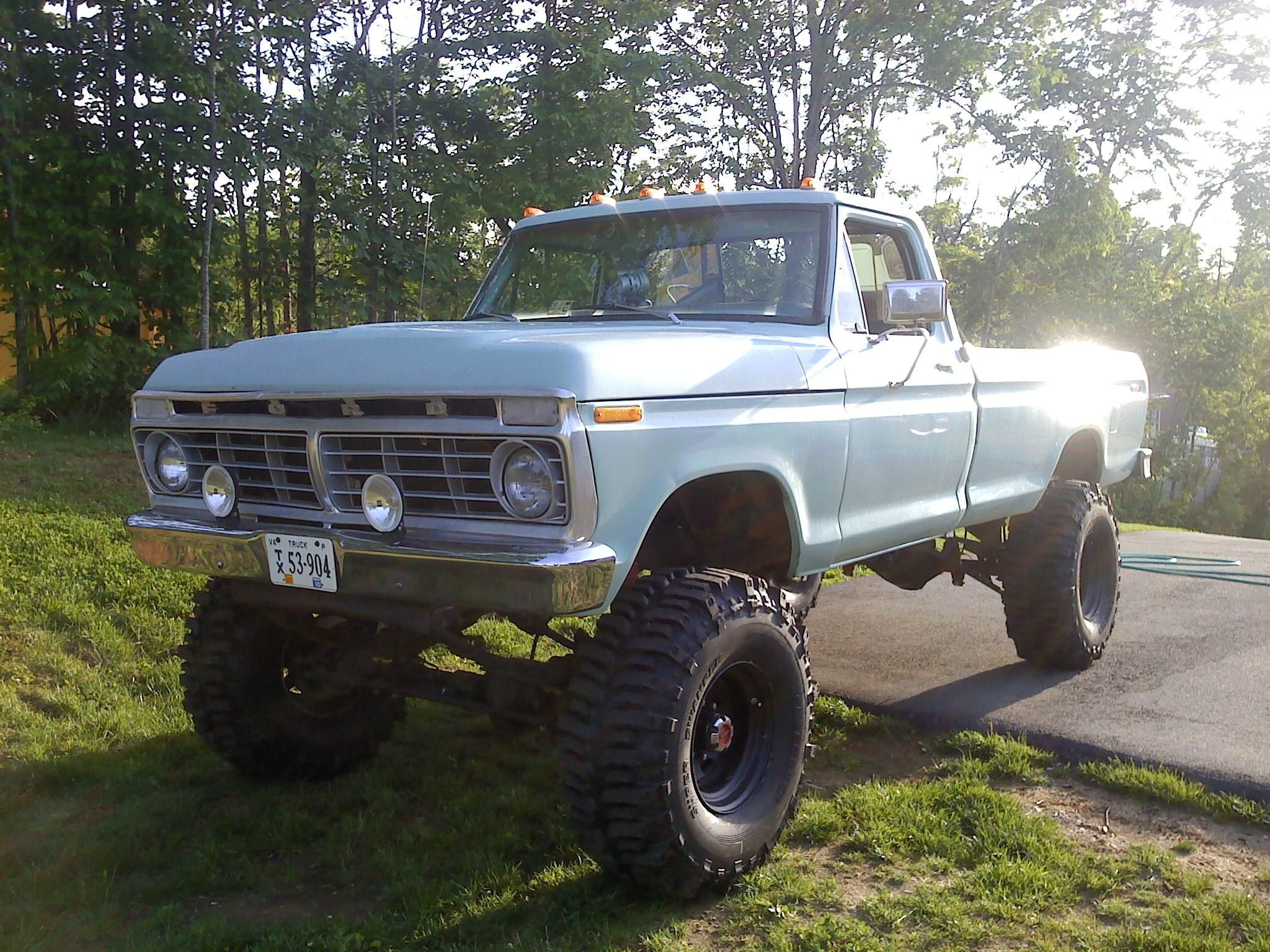 73 highboy f 250 my style 4x4 s ford trucks ford trucks 74 F250 Highboy 73 highboy f 250