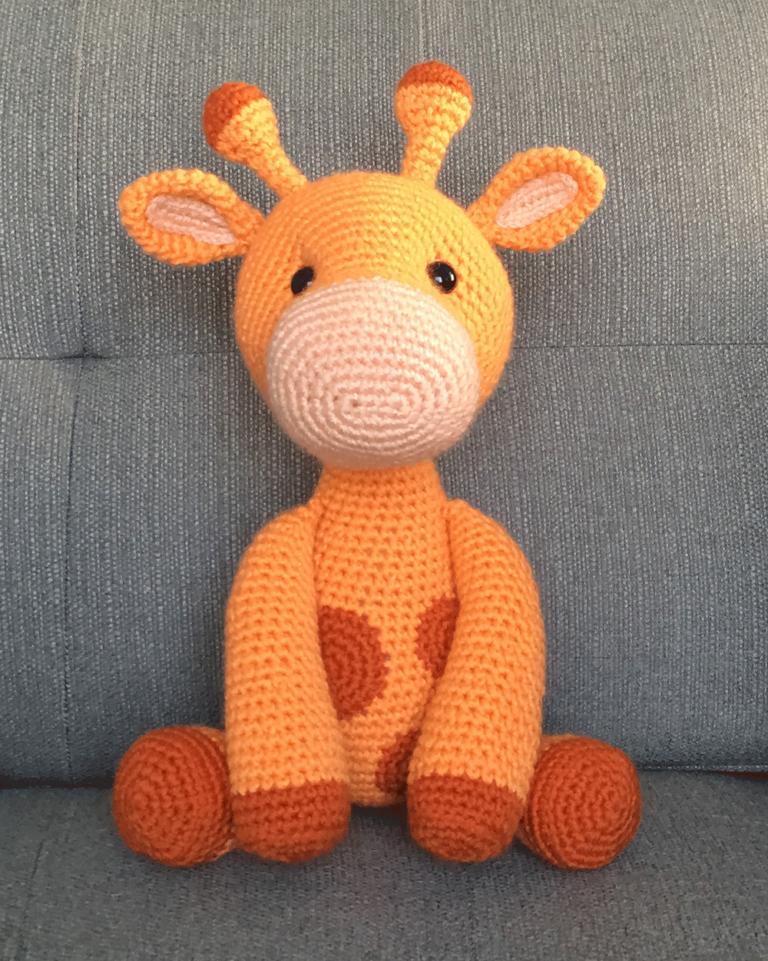 Ginnie the Giraffe #haken