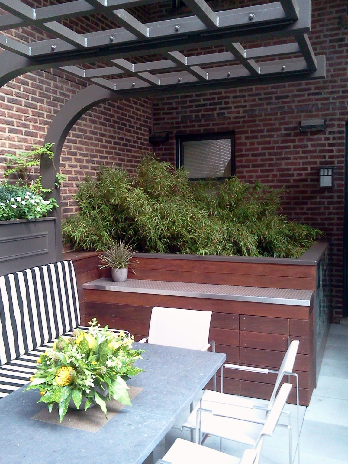 Chicago Roof Deck Urban Garden Landscape Design