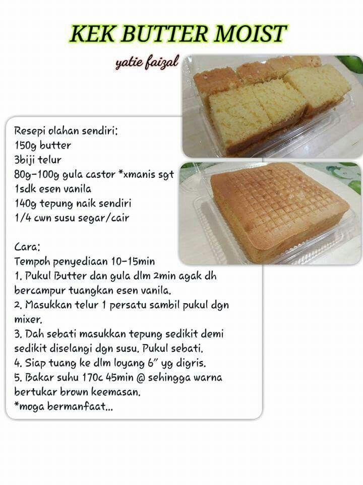 Resep Bolu Bakar : resep, bakar, Sarah, World, Baking, Recipes,