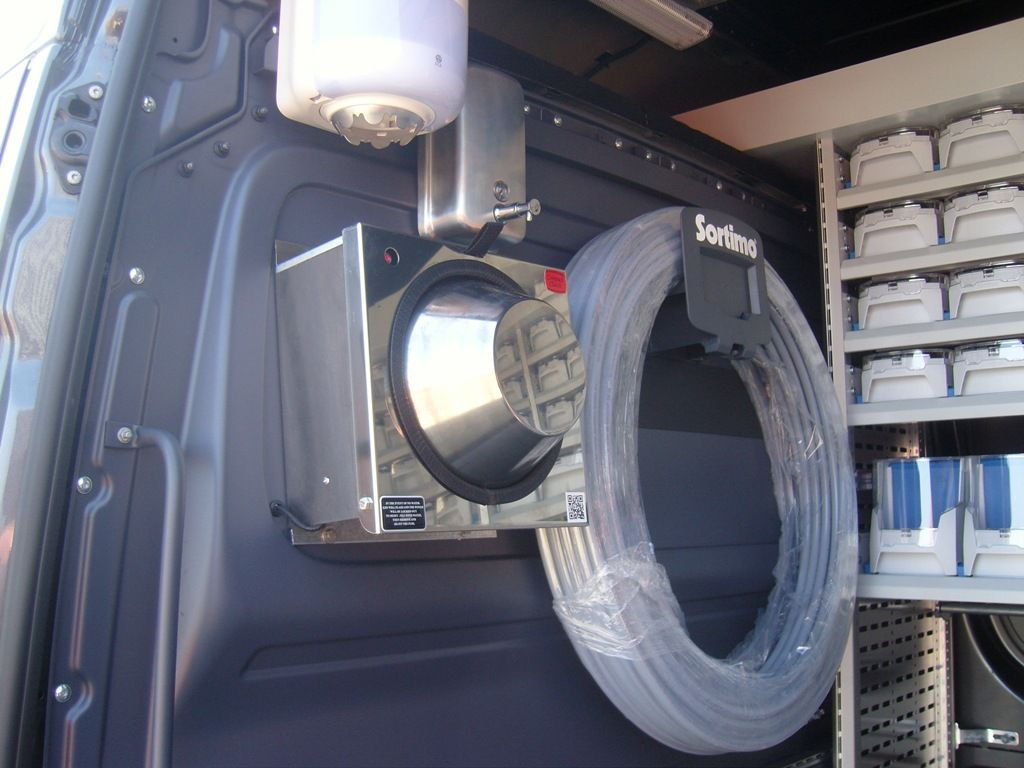 Mercedes Sprinter Vw Crafter Sortimo Racking Conversion  # Muebles Sortimo