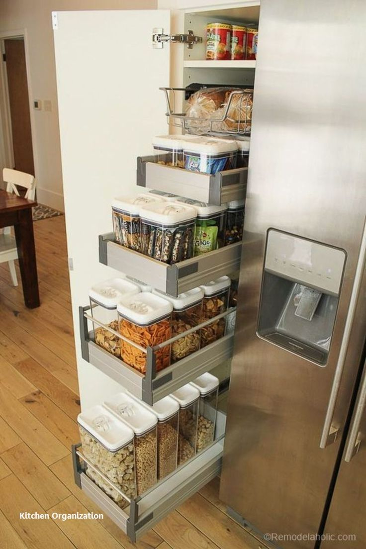 New Kitchen Organization Ideas #kitchenorganizationdiy