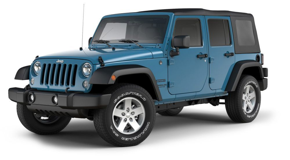 2017 Jeep Wrangler Unlimited Sport Utility 4Door
