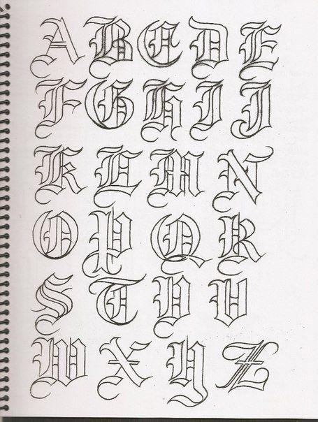 Caligrafía, abecedarios   Lettering   Pinterest   Abecedario ...