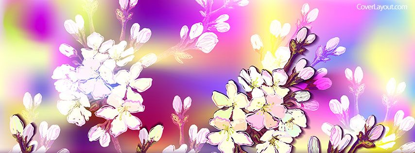 Spring flowers facebook cover coverlayout spring pinterest spring flowers facebook cover coverlayout mightylinksfo