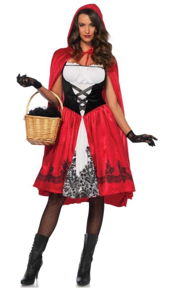 Kostum Rotkappchen Samia Kleid Mit Umhang Marchen Mottoparty